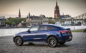 Картинка Mercedes - Benz, кроссовер, SUV, 2019, Мерседес - Бенц, Mercedes-Benz GLC 300 4MATIC Coupe, brilliant …