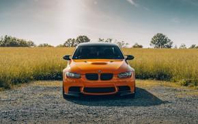 Картинка природа, дизайн, цвет, BMW, автомобиль, передок, E92 M3