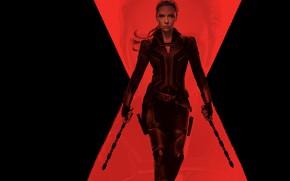 Картинка девушка, Скарлет Йохансон, Black Widow, Чёрная Пантера