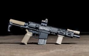 Обои оружие, винтовка, weapon, custom, м16, ar-15, assault rifle, m16, assault Rifle, ар-15, ар 15, ar ...