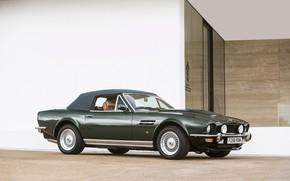 Картинка Green, Cabriolet, British Car, Aston Martin V8 Vantage Volante