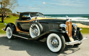 Картинка машина, автомобиль, ретро автомобили, Auburn V12 160A