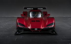 Картинка Фары, Значок, Sports car, 2017, Спортпрототип, 24 Hours of Daytona, Mazda RT24-P, Гонка на выносливость