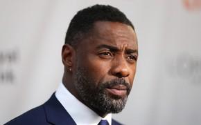 Картинка взгляд, поза, портрет, актёр, музыкант, фотосессия, диджей, Idris Elba, Идрис Эльба