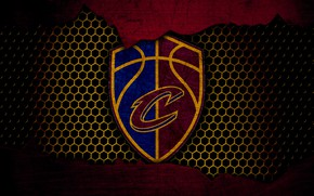 Картинка wallpaper, sport, logo, basketball, NBA, Cleveland Cavaliers