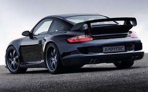 Картинка купе, 997, спорткар, Porsche 911 Turbo, 2006 Sportec SPR1