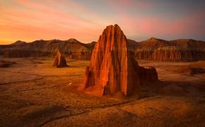 Картинка горы, скалы, пустыня, США, каньоны