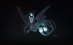 Картинка Крылья, Фон, Halloween, Fantasy, Mythology, Art, Фантастика, Characters, Monsters, Мифическое существо, Creatures, Мифология, Candice Sciortino, …