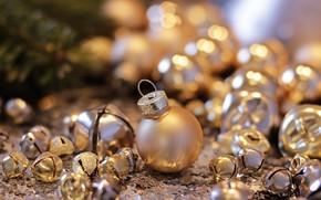 Картинка фото, Шарики, Новый год