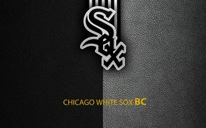 Картинка wallpaper, sport, logo, baseball, Chicago White Sox