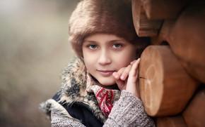 Картинка портрет, девочка, Русская красавица, Cherepko Denis