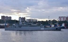 Картинка корабль, большой, десантный, ослябя