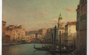 Картинка VENICE, BOUVARD, RIALTO BRIDGE