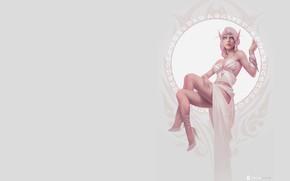 Картинка фэнтези, арт, эльфийка, Celebrity, Dmitry Prozorov