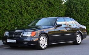 Картинка AMG, W140, Mercedes- Benz, 600SE