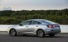 Картинка берег, Honda, седан, Hybrid, Insight, гибрид, Touring, четырёхдверный, 2019