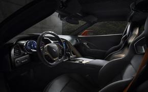 Картинка Corvette, ZR1, Car, Interior