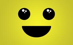 Картинка глаза, улыбка, рот, смайлик