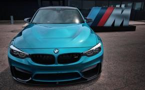 Картинка BMW, Blue, F80, Sight, M-Performance