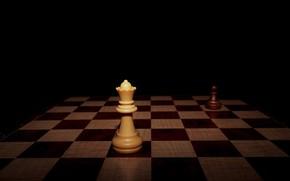 Картинка шахматы, доска, фигуры