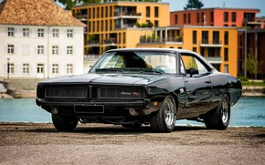 Картинка Classic, Dodge Charger, Muscle car, R/T, Vehicle