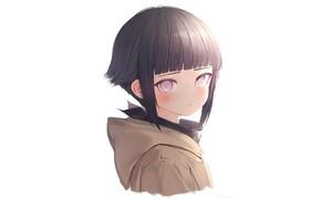 Картинка девочка, Наруто, Naruto, Хината Хьюго