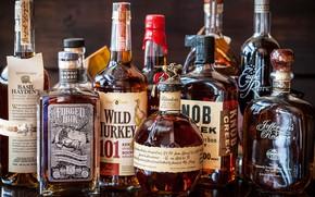 Картинка алкоголь, бутылки, бурбон