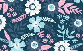 Картинка цветы, фон, текстура, Flowers, background