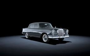 Картинка 1964, classic car, Mercedes-Benz 220 SE