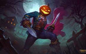 Картинка Halloween, loki, spooky, smite