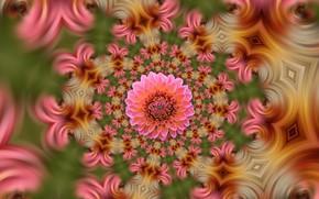 Картинка цветы, структура, текстура
