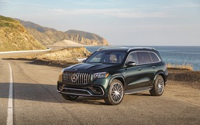 Картинка Mercedes-Benz, 4MATIC, 2021 AMG GLS 63