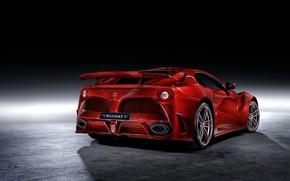 Картинка Ferrari, суперкар, вид сзади, Mansory, Berlinetta, F12, 2013, La Revoluzione