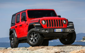 Картинка 2018, Wrangler, Jeep, Unlimited, Rubicon, Jeep Wrangler Unlimited Rubicon 2018