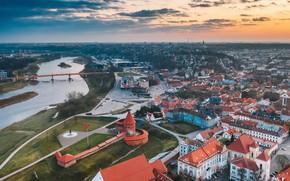 Картинка город, Lietuva, Kaunas