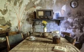 Картинка стол, комната, натурализм