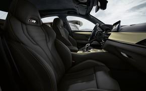 Картинка BMW, седан, салон, BMW M5, M5, F90, 2019, Edition 35 Years