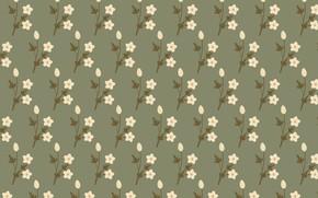 Картинка цветы, фон, текстура, flowers, background, pattern