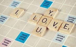 Картинка Love, Mood, Puzzle, Inscription, Crossword