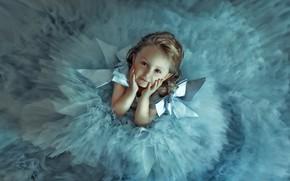 Картинка взгляд, платье, девочка, бантики, малышка, ребёнок, Korsikova Larisa
