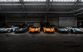 Картинка McLaren, Coupe, 2018, Spider, MSO, 570S, Muriwai White, Papaya Spark, Sarthe Grey