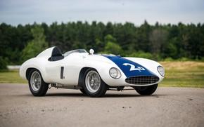 Картинка Ferrari, Classic, Classic car, 1955, Sports car, Ferrari 750 Monza Spyder