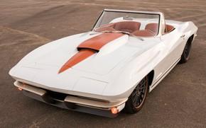 Картинка Corvette, Chevrolet, White, Tuning