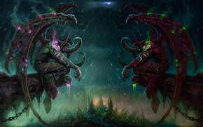 Картинка фэнтези, демоны, World Of Warcraft