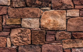 Картинка камни, фон, стена