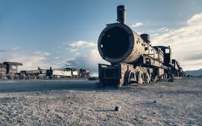 Картинка фон, поезд, лом