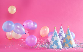 Картинка день рождения, праздник, шары