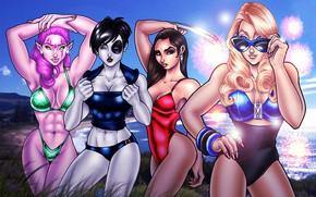 Картинка секси, девушки, комиксы