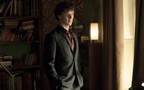 Картинка взгляд, комната, Шерлок Холмс, Бенедикт Камбербэтч, Benedict Cumberbatch, Sherlock, Sherlock BBC, Sherlock Holmes, Sherlock (сериал)