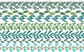 Картинка белый, фон, текстура, Leaves